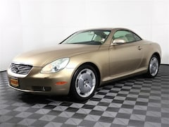 Bargain Used 2002 LEXUS SC 430 Convertible under $10,000 for Sale in Puyallup, WA