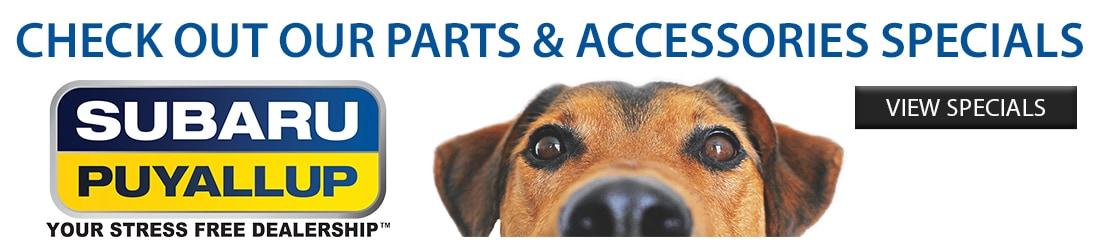 Genuine Subaru Accessories information | Puyallup, WA