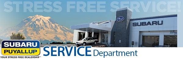 Puyallup Subaru Car Repair Auto Service Center Near Seattle