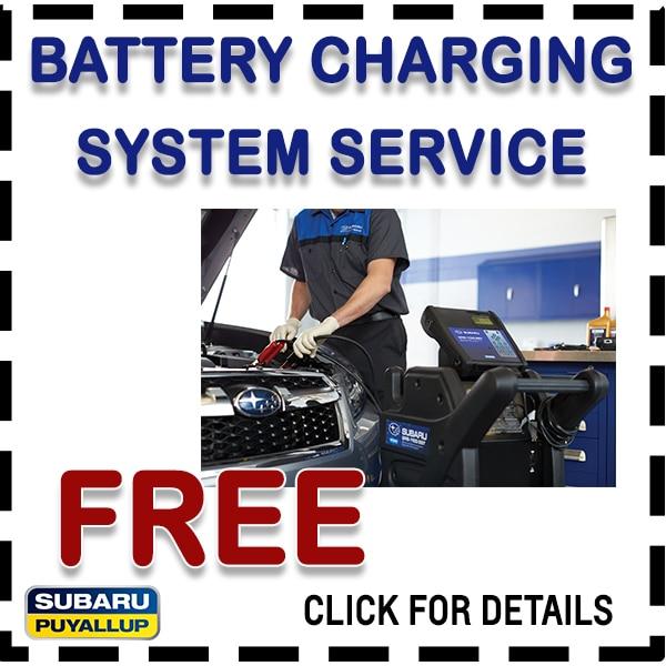 Save on Subaru maintenance and repair in Puyallup, WA