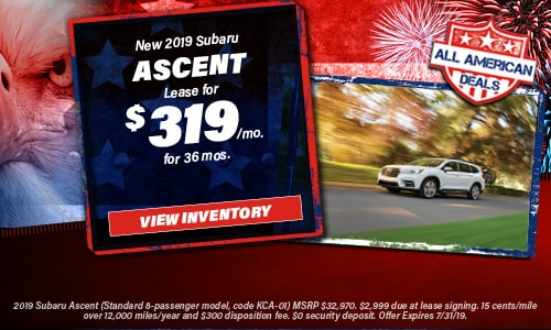 July 2019 Ascent Lease Offer