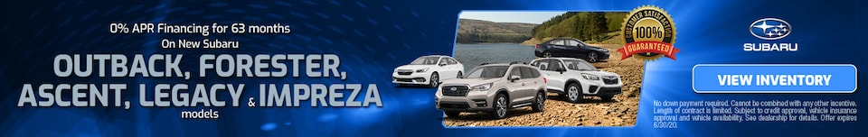 June 0% APR Financing for 63 months