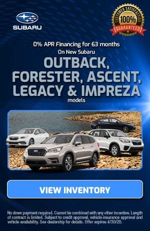 April 0% APR Financing for 63 months Offer