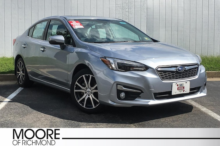 Used 2017 Subaru Impreza Limited Sedan For Sale Richmond, VA