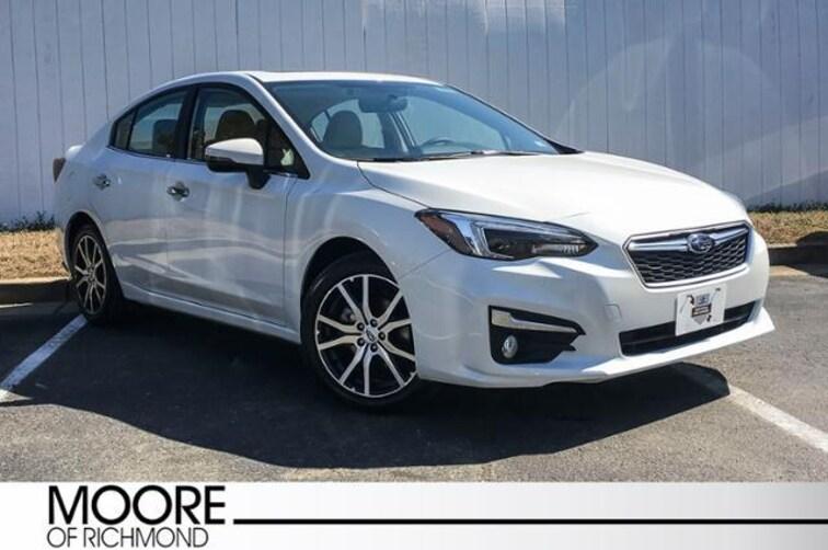 Used 2018 Subaru Impreza Limited Sedan For Sale Richmond, VA