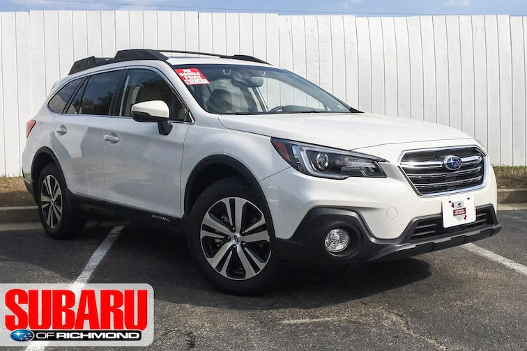 Certified Pre-Owned 2018 Subaru Outback Limited SUV For Sale Richmond, VA
