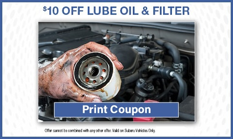 Lube & Filter Special