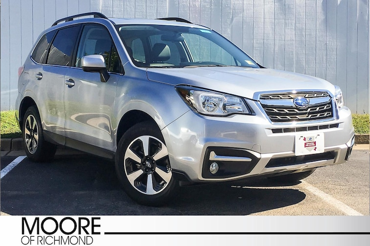 Used 2018 Subaru Forester Limited SUV For Sale Richmond, VA
