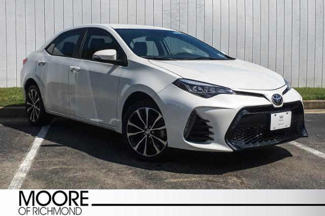Cars For Sale In Richmond Va >> Used 2017 Toyota Corolla Se For Sale In Richmond Va Near Henrico