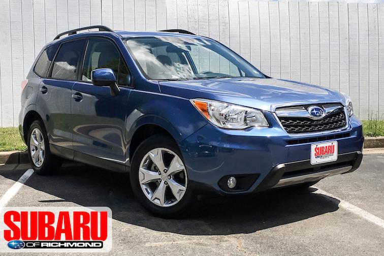 Used 2015 Subaru Forester 2.5i Premium SUV For Sale Richmond, VA
