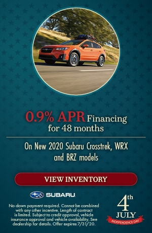 July 0.9% APR Financing for 48 months Offer