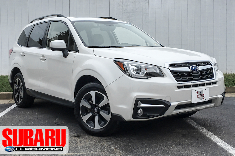 Certified Pre-Owned 2018 Subaru Forester Limited SUV For Sale Richmond, VA