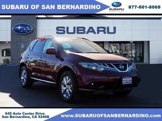 Used 2012 Nissan Murano SL (CVT) SUV JN8AZ1MU6CW109677 in San Bernardino