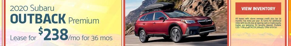 May 2020 Subaru Outback Premium