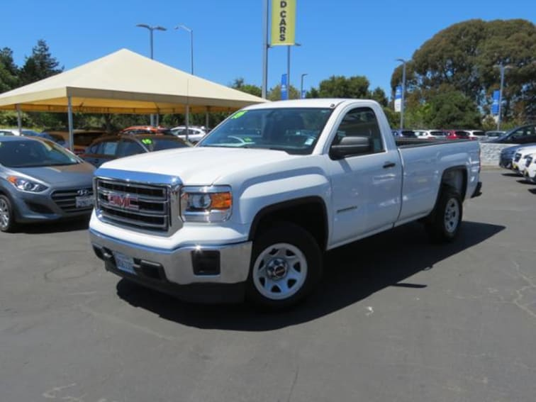 Used 2015 GMC Sierra 1500 2WD Reg Cab 133.0 Truck for sale in the Bay Area