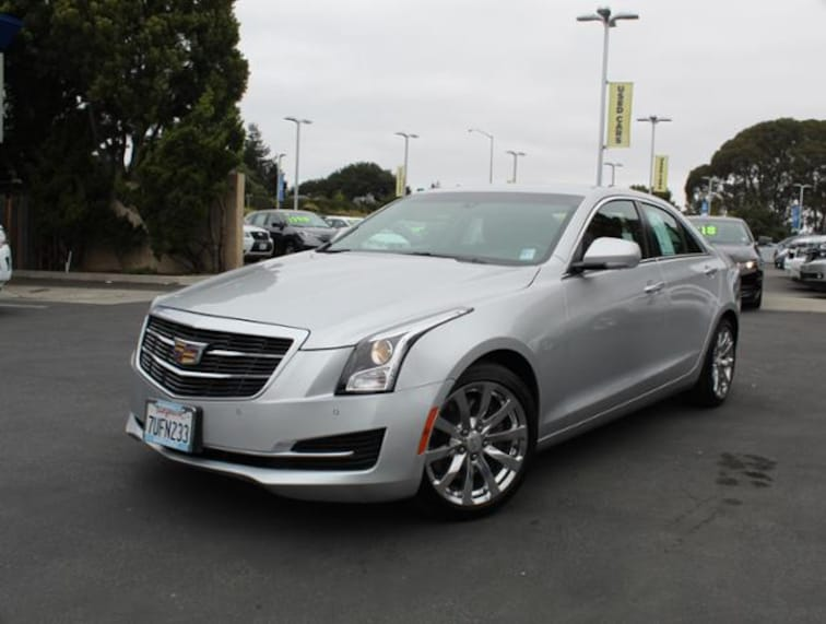 Used 2017 Cadillac ATS Sedan 2.0L Luxury RWD Sedan for sale in the Bay Area