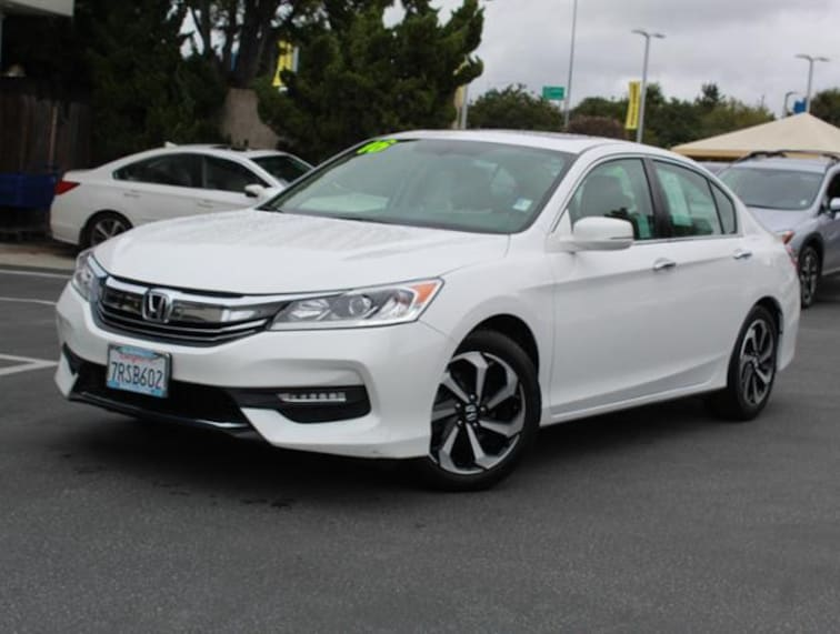 Used 2016 Honda Accord Sedan I4 CVT EX-L for sale in the Bay Area