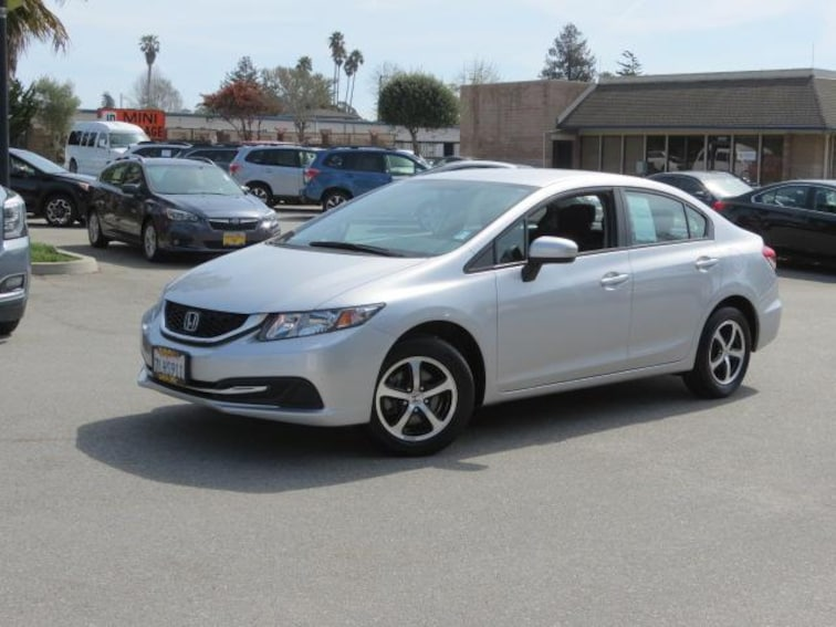 Used 2015 Honda Civic Sedan CVT SE for sale in the Bay Area