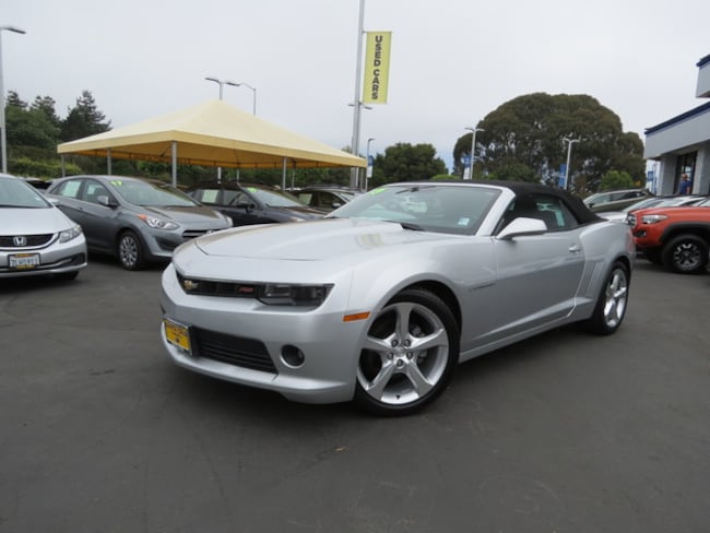 Used 2015 Chevrolet Camaro LT w/1LT Convertible for sale in the Bay Area