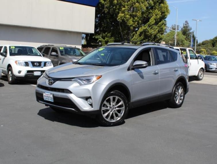 Used 2016 Toyota RAV4 FWD  Limited SUV for sale in the Bay Area