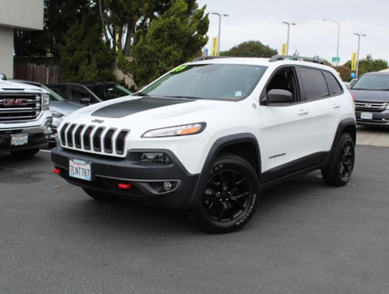 Used 2015 Jeep Cherokee 4WD  Trailhawk SUV for sale in the Bay Area