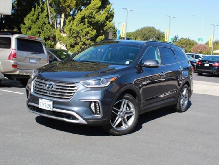 Used 2017 Hyundai Santa Fe 3.3L Automatic SUV for sale in the Bay Area