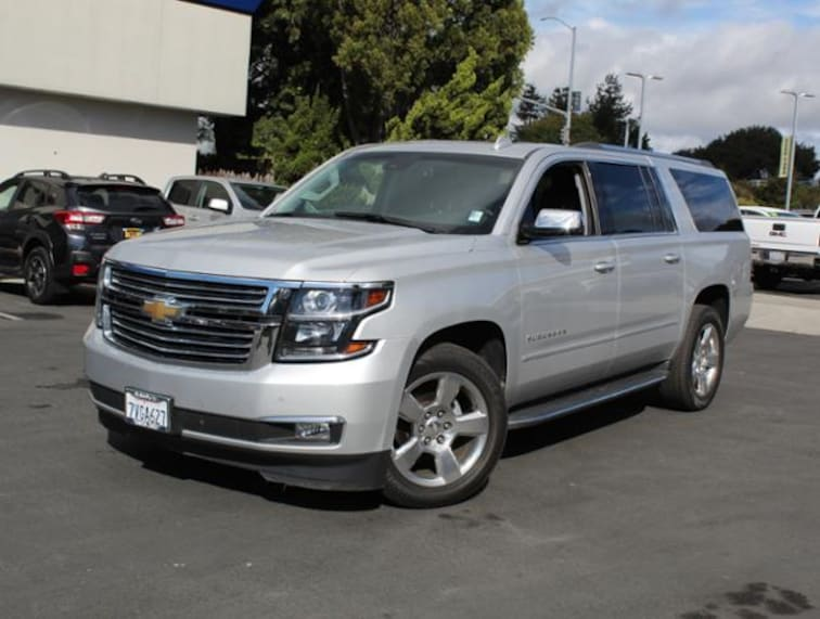 Used 2017 Chevrolet Suburban 4WD  1500 Premier SUV for sale in the Bay Area