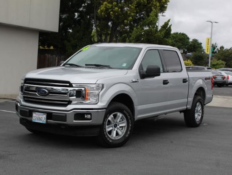 Used 2018 Ford F-150 XLT 4WD Supercrew 5.5 Box Truck for sale in the Bay Area