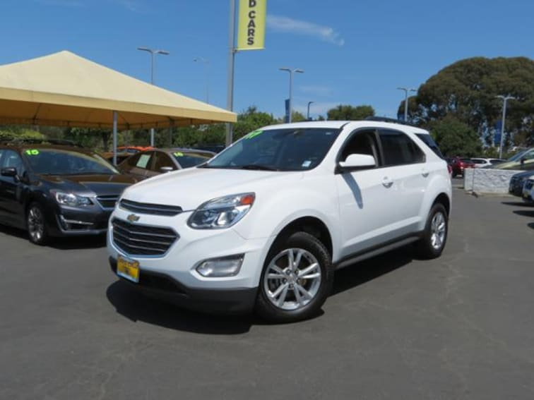 Used 2017 Chevrolet Equinox FWD  LT w/1LT SUV for sale in the Bay Area