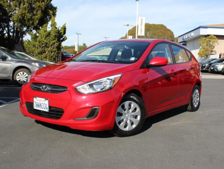 Used 2017 Hyundai Accent Hatchback for sale in the Bay Area