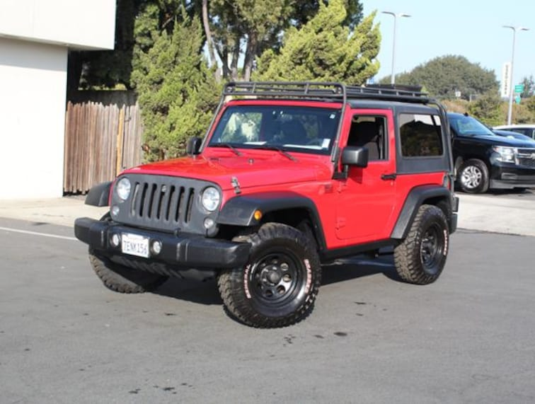 Used 2014 Jeep Wrangler 4WD  Sport SUV for sale in the Bay Area