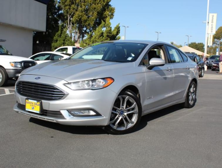 Used 2017 Ford Fusion Hybrid SE FWD for sale in the Bay Area