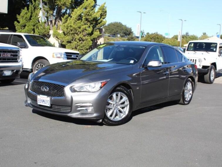 Used 2014 INFINITI Q50 Premium RWD Sedan for sale in the Bay Area
