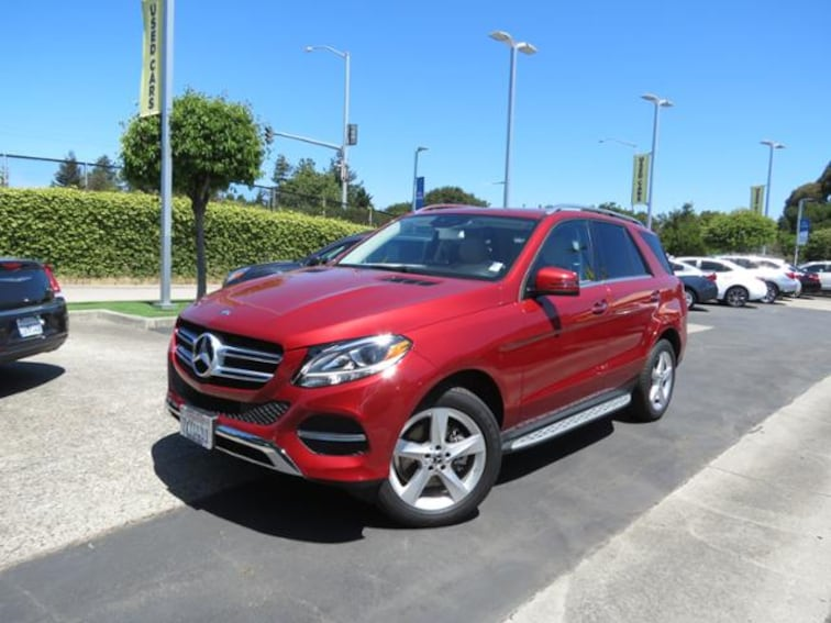 Used 2017 Mercedes Benz Gle Gle 350 4matic For Sale In Capitola Ca