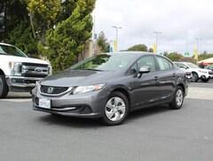 Used 2013 Honda Civic Sdn Auto LX 12436A for sale in Capitola, CA near Santa Cruz