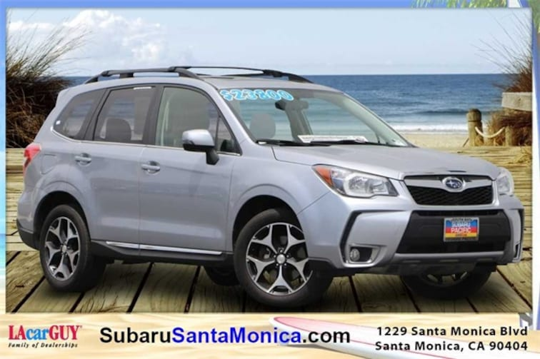 Certified Pre-Owned 2016 Subaru Forester 2.0XT Touring SUV in Santa Monica, CA