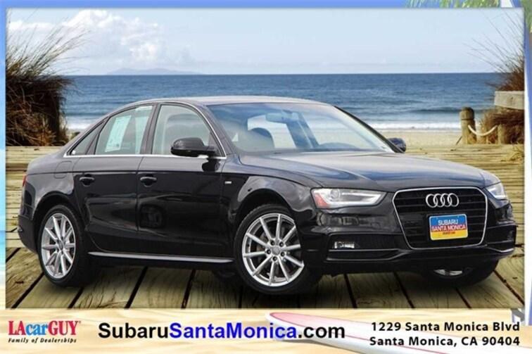 Used 2016 Audi A4 2.0T Premium Plus Sedan in Santa Monica, CA
