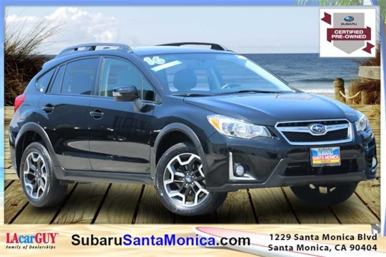 Certified Pre-Owned 2016 Subaru Crosstrek 2.0i Limited SUV in Santa Monica, CA