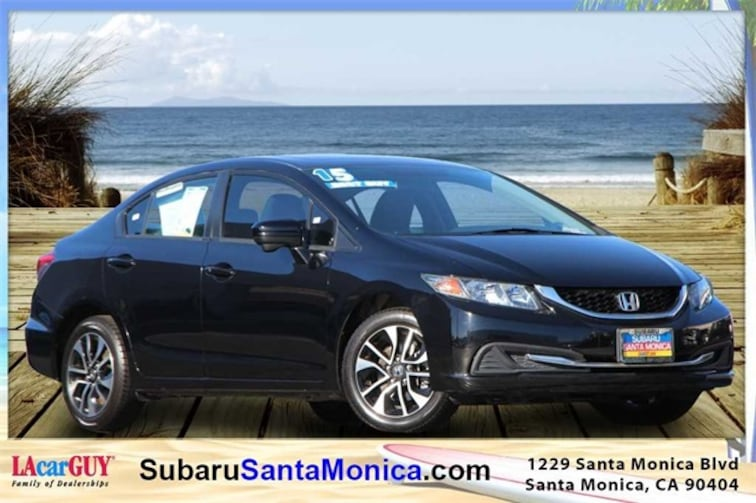 Used 2015 Honda Civic EX Sedan in Santa Monica, CA