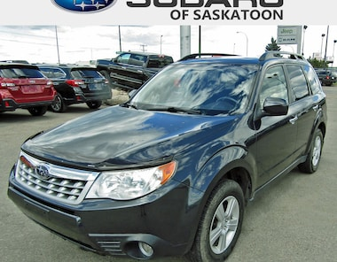 2011 Subaru Forester 2.5X AWD with Sunroof & Low KM SUV