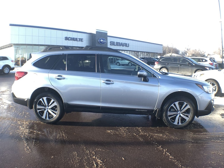Used 2018 Subaru Outback Limited SUV for sale in Sioux Falls, SD at Schulte Subaru