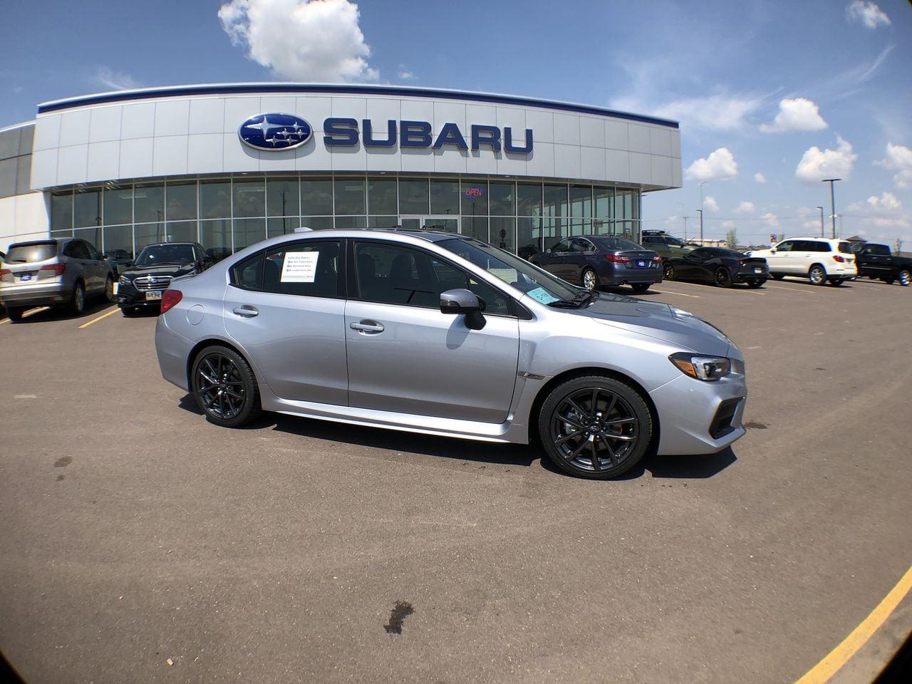 2018 Subaru WRX Limited with Navigation System, Harman Kardon Ampl Sedan JF1VA1L64J8836024
