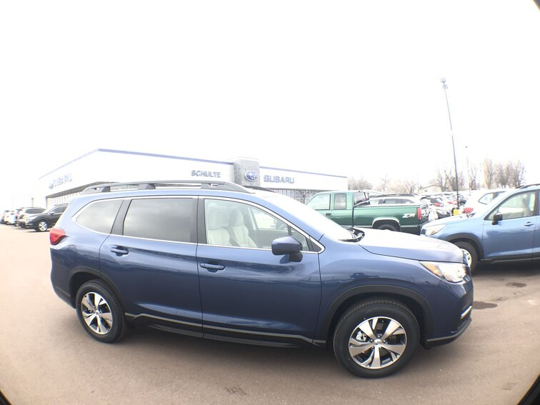 New 2019 Subaru Ascent Premium 8-Passenger SUV 4S4WMACD2K3444321 for sale in Sioux Falls, SD at Schulte Subaru