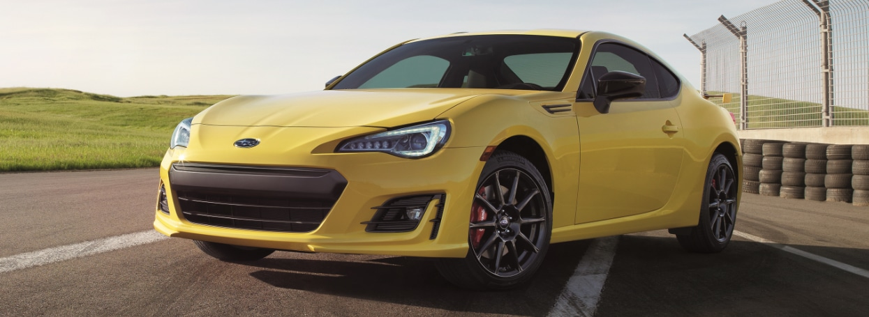 2018 Subaru BRZ Series.Yellow