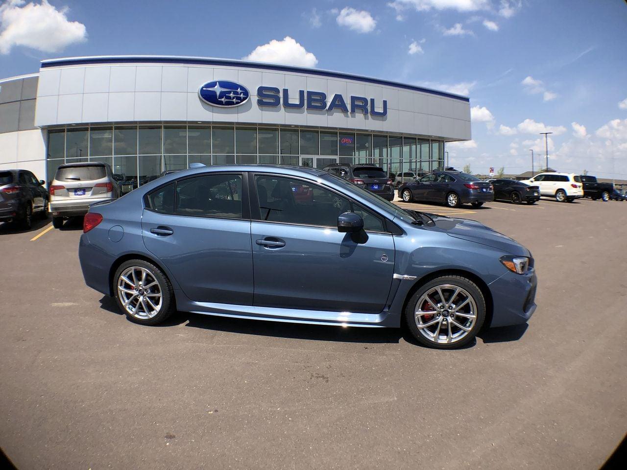 2018 Subaru WRX Limited 50th Anniversary Edition Sedan JF1VA1K66J9825571