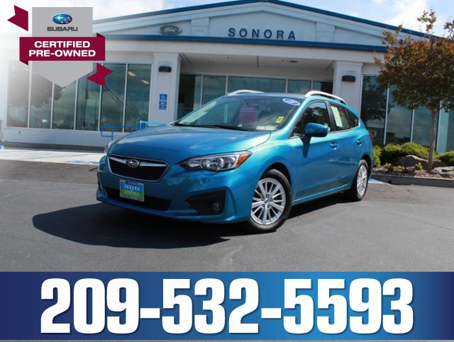 Featured 2018 Subaru Impreza 2.0i Premium 5-Door CVT Car for sale in Sonora, CA