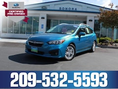 Certified Pre-Owned 2018 Subaru Impreza 2.0i Premium 5-Door CVT Car 4S3GTAD68J3748599 For sale near Arnold CA