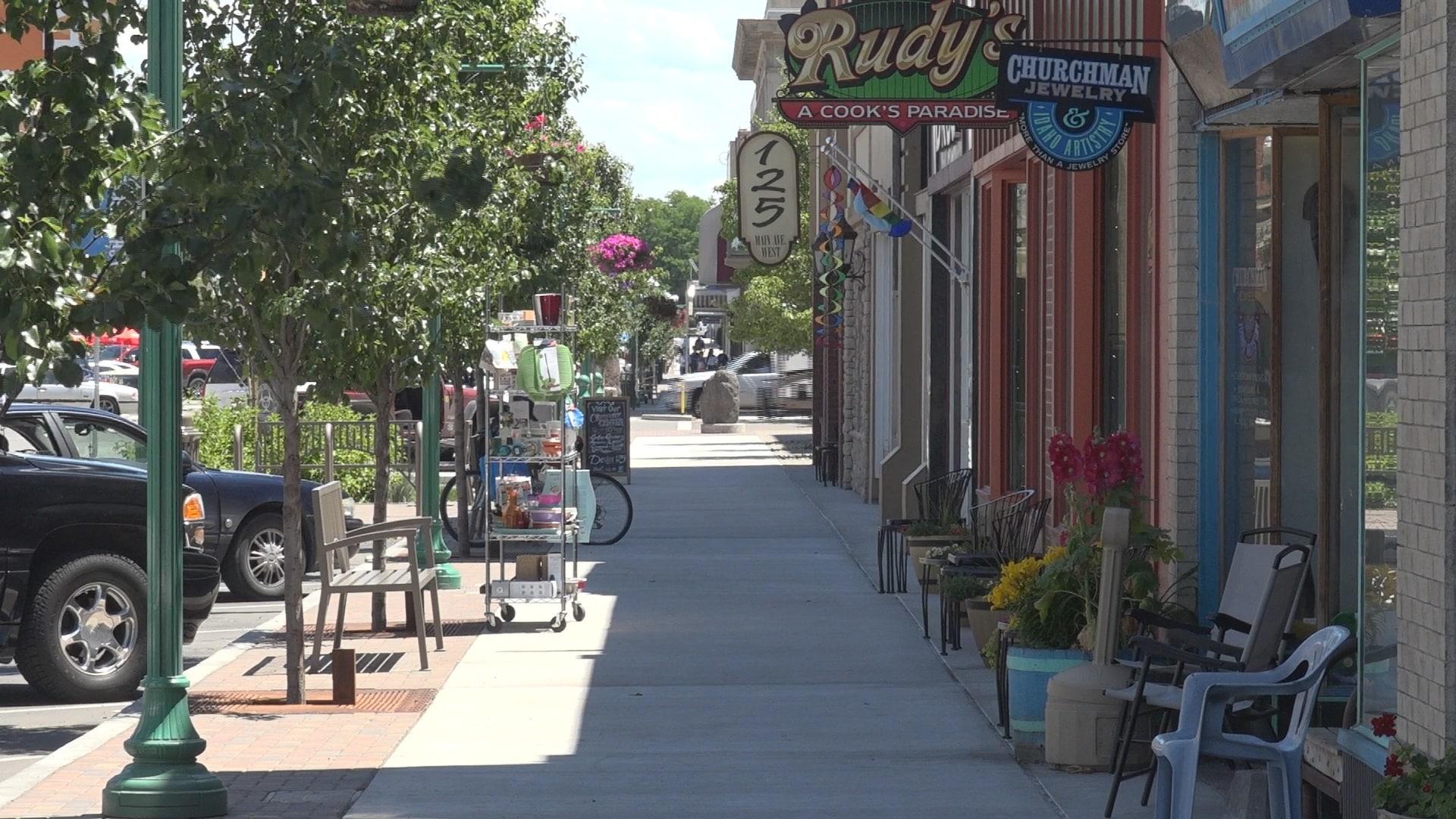 Downtown Twin Falls Idaho