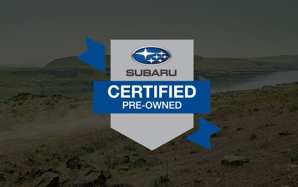 Picture of the Subaru Certified pre-owned badge