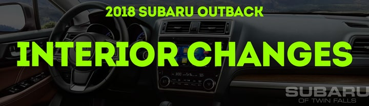 The Essential Guide to the Updated 2018 Subaru Outback | Subaru of